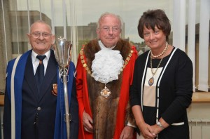 ELECTED - new mayor of Woking Michael Smith