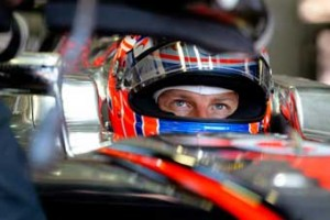RETIRED - Jenson Button suffered a premature end to his race