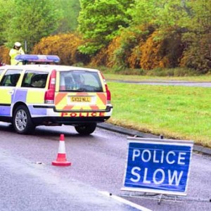 COLLISION - Princess Road was closed off by police