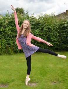 TALENT - Emily's ability has landed her a place at a top ballet academy