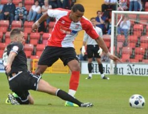 ON THE GOAL TRAIL - Loick Pires now has two goals in two games for the Cards