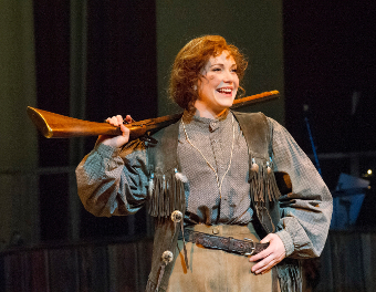 IN HER SIGHTS – Annie Get Your Gun will fire into Woking from Tuesday (August 12)