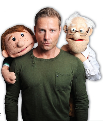 GOTTLE A GEAR - Paul Zerdin and his little pals will be at Camberley Theatre on Friday, September 5