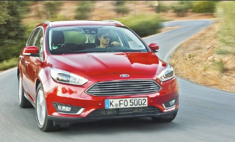 NEW FOCUS - comes in five-door hatchback and estate versions only