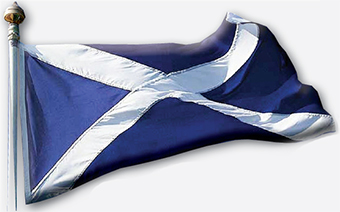 FLAG DAY – Scotland are making a decision on independence