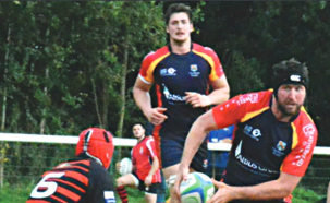 LEADING THE WAY - Ryan Gregory (Pictures from Chobham RFC)