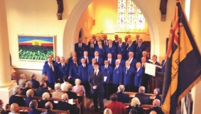 DEFINITELY ON SONG – the Cardiff Arms Male Choir