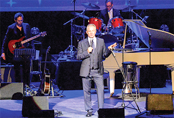 HOST WITH THE MOST – entertainer Bobby Davro gathered a star-spangled line-up (Pictures by: David Holmes)