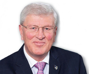 A BIG ASK - Surrey County Council leader David Hodge is lobbying the Government for more schools funding