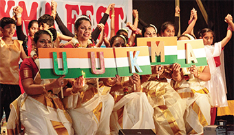 THEY'RE GETTING THE MESSAGE – the Union of UK Malayalee Associations (UUKMA) came together in Sheerwater