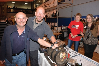 JUST DIPPING IN – CAMRA quartet Andy, Iain, Gerry and Elizabeth