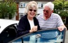 RESCUE REMEDY – Eileen Smith with John Stocker, one of SWAN's volunteer drivers