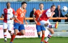 OFF TARGET – striker Scott Rendell was guilty of squandering a number of chances to break the deadlock against the Iron over the weekend