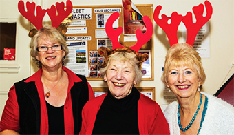 'EAR 'EAR – Christmas Fair Organising Committee Kate Gill, Dorothy Farrant and Anne Roberts