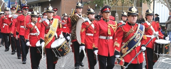 DRUMMER BOYS – the emotional scenes in Woking over Remembrance weekend did justice to those who have sacrificed so much