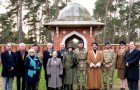 REINSTATEMENT – Woking officials gathered to witness the ceremony