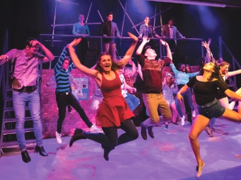 JUMP FOR JOY – audiences were dazzled by the annual production