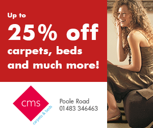 CMS for Carpets and Beds - Poole Road, Woking