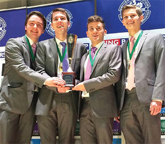 PROPER SOUND – National Youth Barbershop singing champions