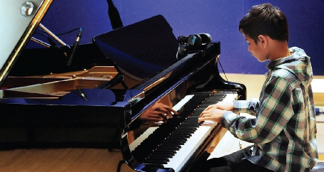 PLAY IT AGAIN, SHANE – talented Shane Thomas has won a landslide of accolades despite his young age