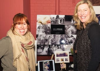 PICTURE THIS – Karen Furlong and Shell Sperling with their photographs