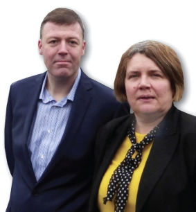 LIB DEMS - Chris Took and Anne-Marie Barker have 'questions to ask' about McLaren's site expansion