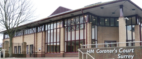 THE CORONER-STONE COURT – the former Woking Magistrates' building on Station Approach now serves as a dedicated Coroner's Court