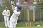 SWING AND A MISS - Matt Coomber is clean bowled