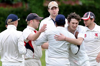 SIX OF THE BEST –  Calum Chisholm's  (centre) half-dozen  haul hit the spot (Picture by David Holmes)