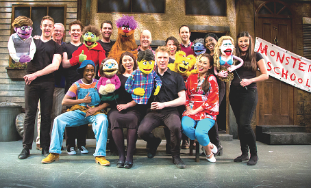 MEET THE PUPPET PALS – the show takes inspiration from some children's TV classics