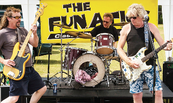 BY POPULAR DEMAND – celebrated local band The Funatics entertain the crowds