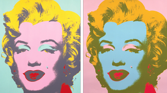 MARILYN FOCUS – Hollywood icon Marilyn Monroe was the subject for some of Andy Warhol's creations