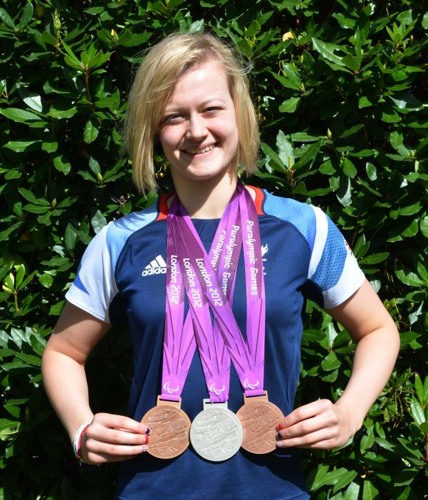 Hannah Russell - medal collection