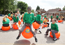 HOP TO IT – Brookwood's innovative Jumping Jaffas Fun Club proved to be a big success