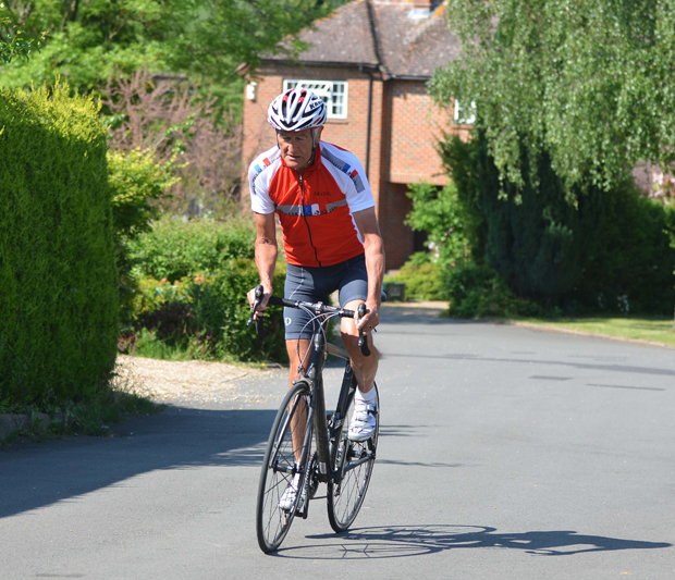 TOUGH CHALLENGE – Brian East will be attempting to cycle a gruelling 3,500km