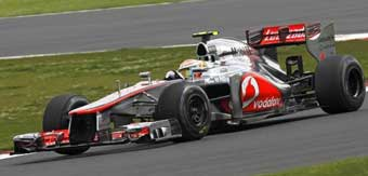 DISAPPOINTED - Lewis Hamilton finished eighth at Silverstone