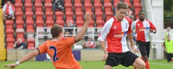 IN THE MARKET - new-boy Lee Sawyer could be joined by 'two or three' additional signings