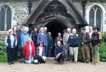 SPROUTING UP – church and charity volunteers will mark the grand opening of the garden on June 15