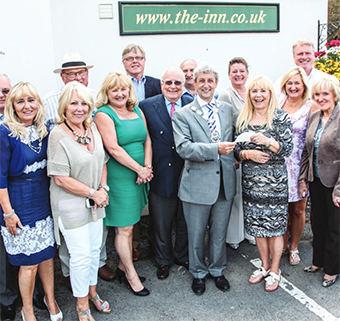 CHARITY – Tricia Matthews hands the cheque to the mayor