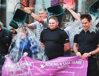 REFRESHED – Woking cops do their bit for the hospices