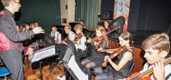 STARS – all productions have a live band, here led by Head of Music Christopher Drake