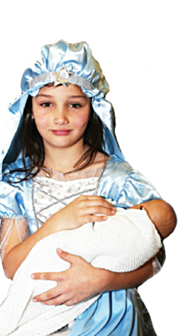 MOTHER MARY - the baby Jesus is born