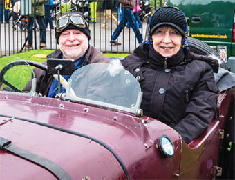 ACES – Don and Silvia Green in their 1932 Riley 9 Special