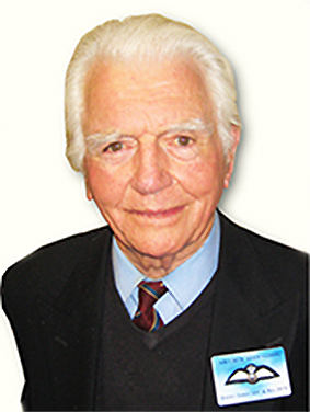 THE LATE JIMMY - former Squadron Leader Hugh Glanffrwd James, died peacefully in his native South Wales earlier this month