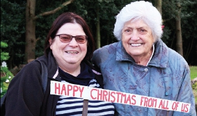 MILES OF SMILES - Sheila with her daughter Ruth