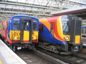 DESTINATION WATERLOO - South West trains will add significant extra capacity to their peak-travel services