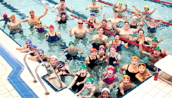 ON THE CREST OF A WAVE – Marie Curie are the charity set to benefit from this year's edition of the World's Biggest Swim event