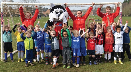 KIDZ' FAVOURITE – Ellie's dedication has been recognised with a nomination