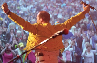 AWARD-WINNING SHOW – the Mercury tribute band have been heralded as the best imitators of Queen