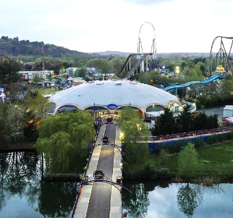 THE TWILIGHT DRONE – drones are not permitted at Thorpe Park in opening hours
